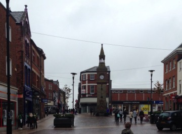 Downtown Ormskirk