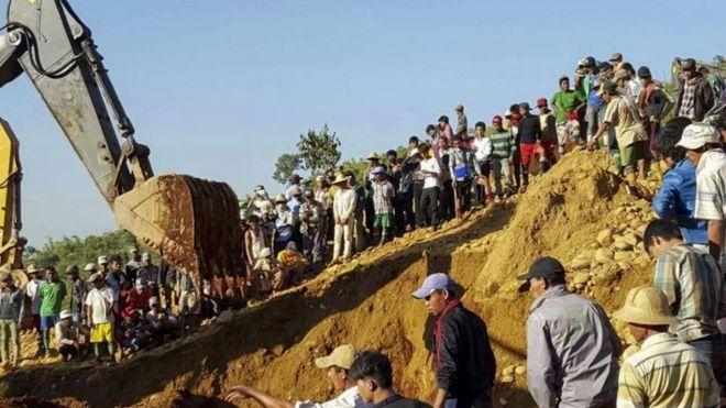 Search in Myanmar
