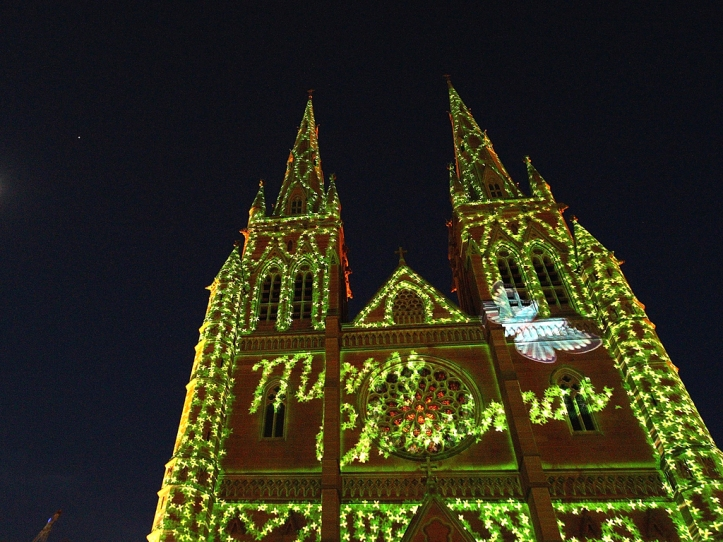 Christmas Lights Illuminate Sydney