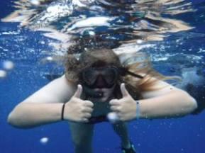 Caitlyn in Fiji