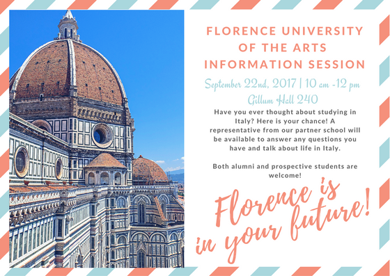 Florence is in your future